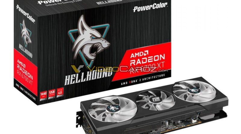 RX 6700 XT Hellhound